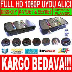FULL HD 1080P METAL KASA UYDU ALICISI + HED�YE
