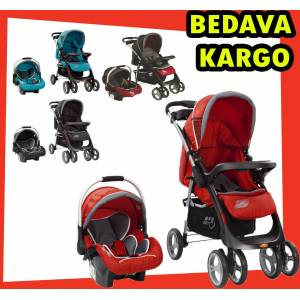 SUNNY BABY BEBEK ARABASI TRAVEL S�STEM FULL 750