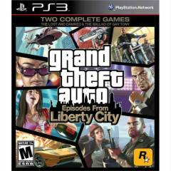 GTA LIBERTY  CITY -GTA 4 PS3 OYUN-KARGO B�ZDEN