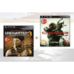 CRYSIS 3 - UNCHARTED 3  PS3 OYUNLARI T�RK�E