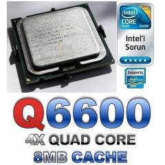 �NTEL CORE 2 QUAD Q6600 2.40GHZ 8MB CACH 1066FSB