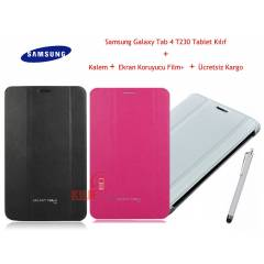 "Samsung Galaxy Tab 4 T230 7"" Book Cover K�l�f"