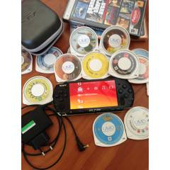 Sony PSP Slim + 4gb memory