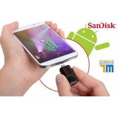 SANDISK 32GB DUAL USB OTG FLASH BELLEK DISK