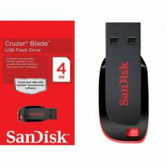 Sandisk Cruzer Blade 4 GB USB Flash Bellek