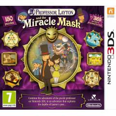 Professor Layton and The Miracle Mask 3DS NİNTEN