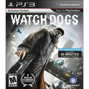 PS3 WATCH DOGS PS3 OYUN ''EXCLUS�VE ED�T�ON''