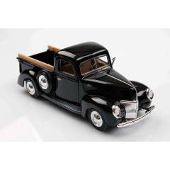 Siyah 1940 Ford Pickup 1/24  Die Cast Model