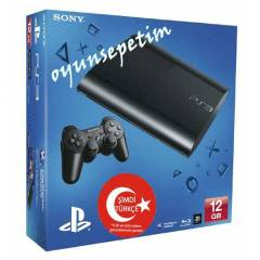 Sony Playstation 3 12  gb Super Slim Oyun Konsol