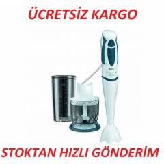 BRAUN MR320 MULT�QU�CK 3 BLENDER SET KARGOSUZ