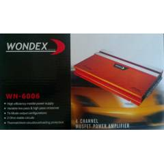 WONDEX WN-6006 4 KANAL 2400 WATT ANF� AMF�