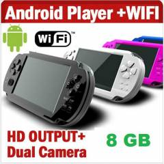 android oyun konsolu 8gb+wifi+dok.ekran+HDMI out