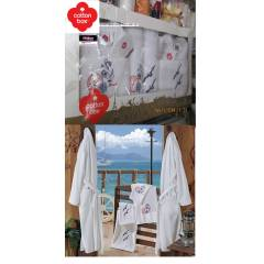 �EY�ZL�K BORNOZ TAKIMI A�LE SET�, COTTON BOX