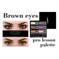 Sephora Pro Lesson Palette - Brown Eyes