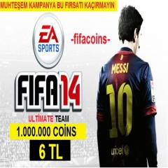 Fifa 14 Coins (PC) 1.000.000 Coin (6 TL)