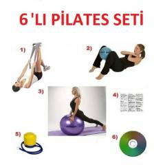 6'LI P�LATES SET�-PLATES BANT-TOPU-K.TOP-CD FIR