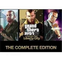 GTA 4 Complete Edition STEAM KEY Region FREE