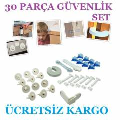30 PAR�A HOME SAFETY BEBEK G�VENL�K K�L�T SET�