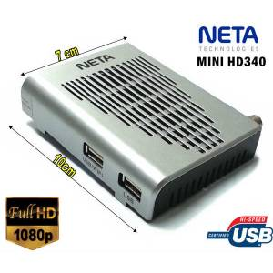 NETA Mini HD340 FULL HD Mini Uydu Al�c�s� +Wifi