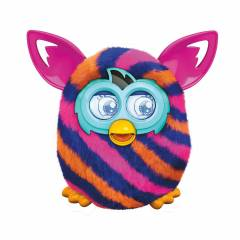 Furby Boom �eki Mor Diagonal Stripes