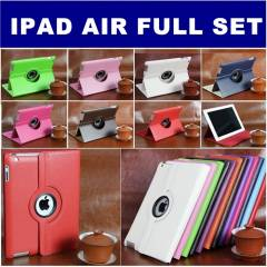 iPad Air K�l�f 360� D�nebilen + Film+ Kalem