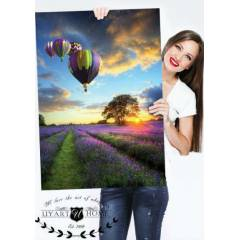 60X90 KANVAS DUVAR TABLO BALON MANZARA CANVAS