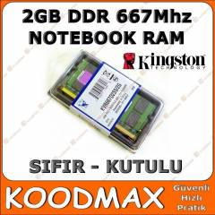 KINGSTON 2 GB 667Mhz DDR2 Notebook Ram