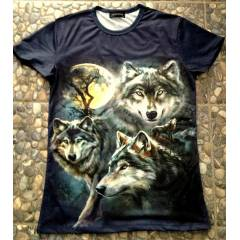 3D WOLF Bask�l� Ti��rt (Slim Fit) - 2014 Sezon