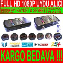 W�ZTECH FULL HD 1080P METAL KASA UYDU ALICISI