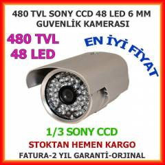 480 TVL 48 LED 6MM GECE G�R�� KAMERASI - 1304