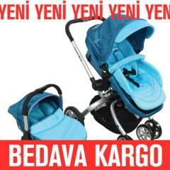 Kraft Twist Rlx Travel Sistem Bebek Arabas� Mavi