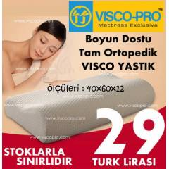 Tam Ortopedik Visco-Pro Maxx Visco Yast�k 29 TL