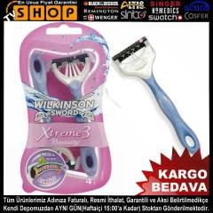 Wilkinson Xtreme 3 Beauty 4x V�cut T�ra� B��a��