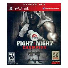 FIGHT NIGHT CHAMPION PS3 SIFIR AMBALAJINDA