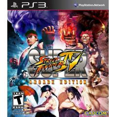 STREET FIGHTER 4 IV ARCADE EDITION PS3 SIFIR