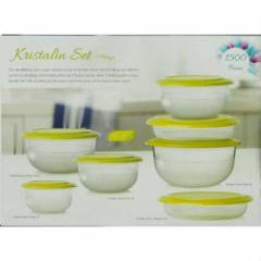 TUPPERWARE KR�STAL�N SERV�S SET�