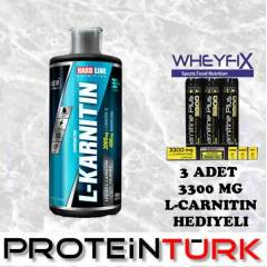 HARDLINE L-Karnitin 1000 Mg 1000 Ml