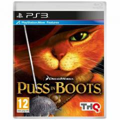 PS3 PUSS IN BOOTS MOVE ORJ�NAL PLAYSTATION 3 PS3