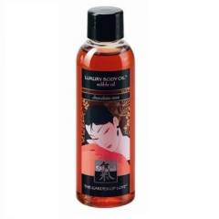 SHIATSU LUXURY BODY OIL EDIBLE OIL CHOCOLATE-MIN