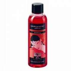SHIATSU LUXURY BODY OIL EDIBLE OIL STRAWBERRY