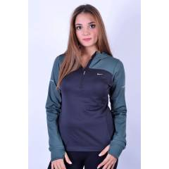 N�KE THERMAL HOODY SWEAT 546047 011|S�YAH-GR�-G�