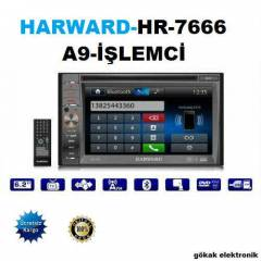 HARWARD HR-7666 6.2'' A9 ��LEMC�/TV/DVD/NAVGSY