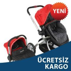 KRAFT TWIST RLX TRAVEL SET KIRMIZI S�YAH