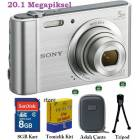 Sony DSC-W800 20.1 MP HD Foto�raf Makinas�
