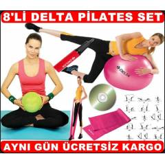 6 LI DELTA P�LATES SET� PLATES SET TOP BANT