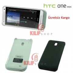HTC One Mini M4 Bataryal� K�l�f 3200 mAh