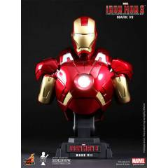 Iron Man Mark VII  1/4 MINI BUST SIDESHOW