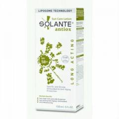 Solante Antiox Spf 50+ Sun Care Lotion 150 Ml