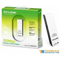 TP-LINK WIRELESS ADAPT�R KABLOSUZ USB ADAPT�R
