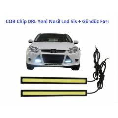 COB Chip DRL Yeni Nesil Led Sis + G�nd�z Far�